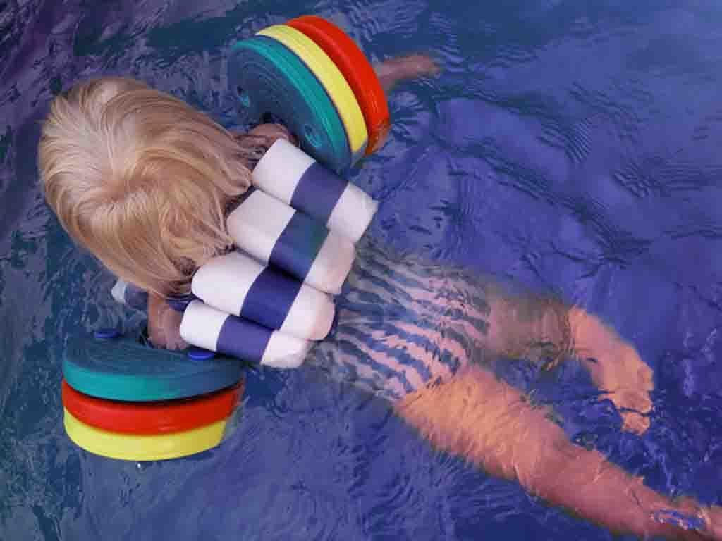 Aufsicht statt Schwimmflügel
